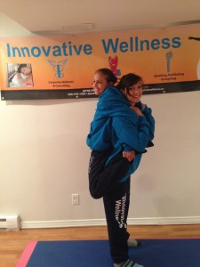 Back Pack in Innovative Wellness Wear May 2015