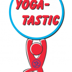 2015 Yoga-Tastic...yoga dude holding words