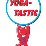 2015 Yoga-Tastic...yoga dude holding words