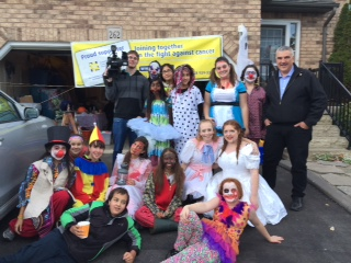 Spooky Tours 2015 Mayor, CTV, volunteers