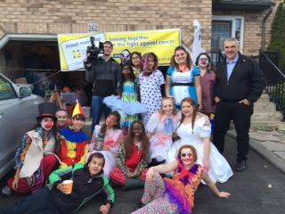 Spooky Tours 2015 Mayor, CTV, volunteers