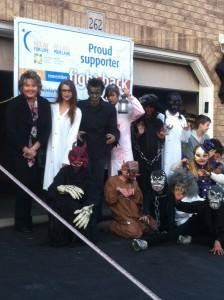 Mayor Brenda Halloran supporting Kids Cancer Fundraiser Sat., Oct 25