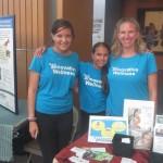 2015 Butterfly Release Info Fair..Kia, Leela and I