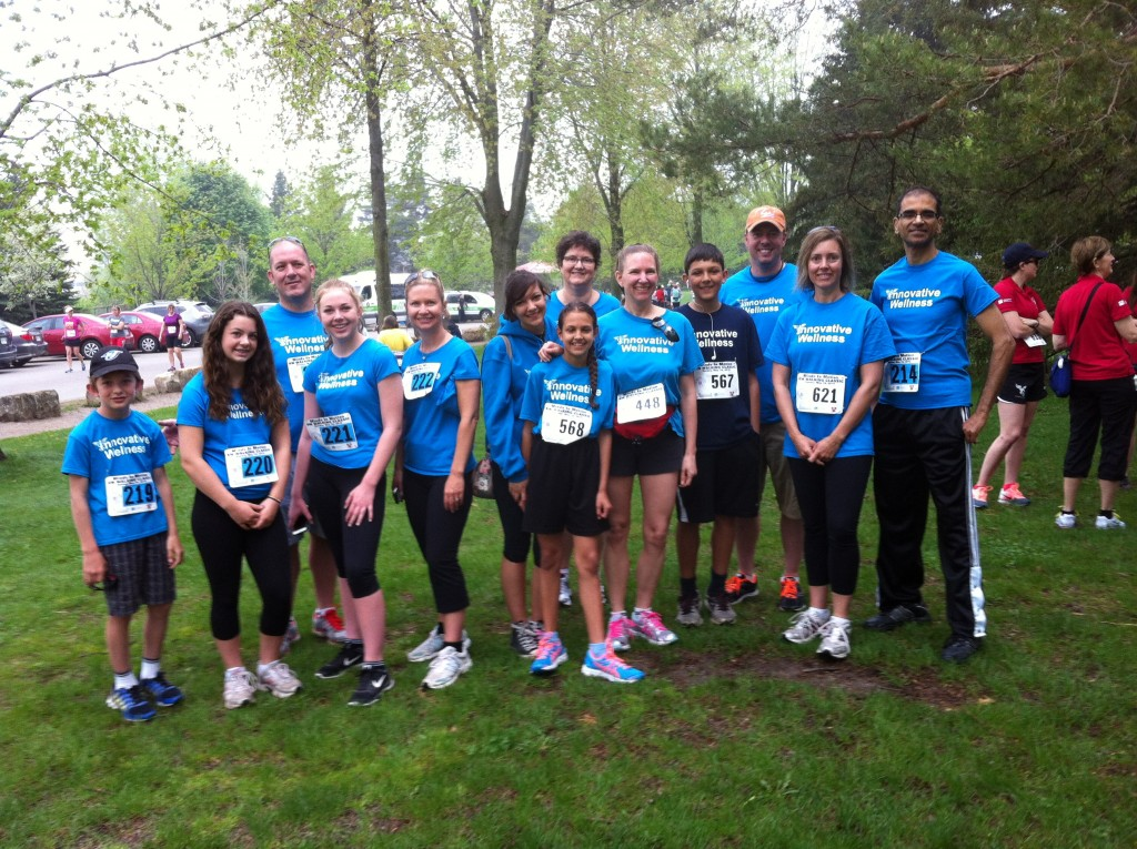 2015 Team Innovative Wellness ...Minds in Motion KW Walking Classic at Waterloo Park May 10, 2015