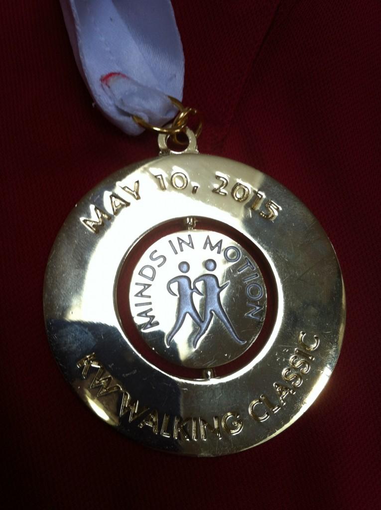 2015 Minds In Motion Medal