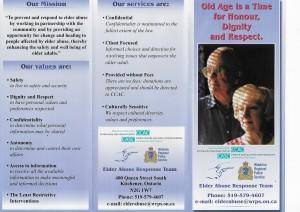 Elder Abuse Response Team pg 1 of 2