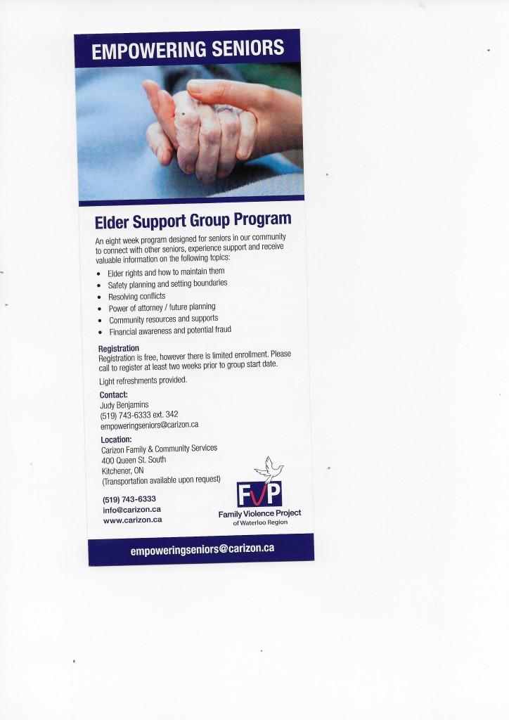 Elder Support Group