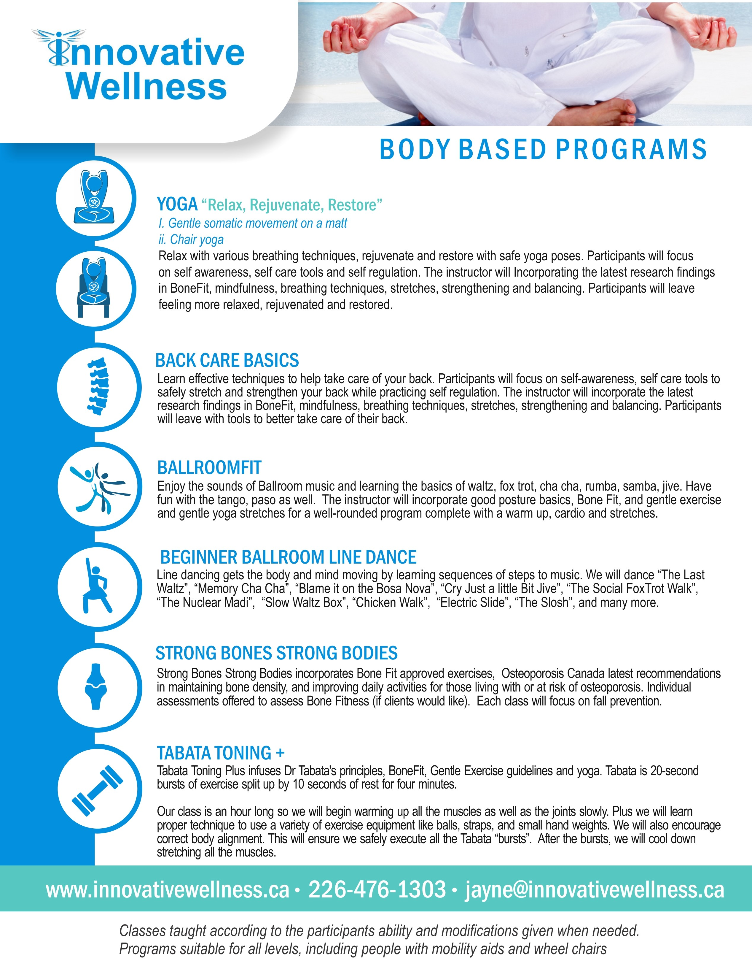 BodyBasedPrograms