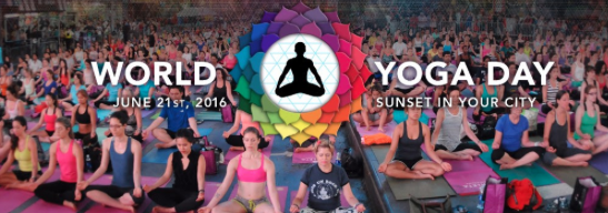 World Yoga Day June 21, 2016